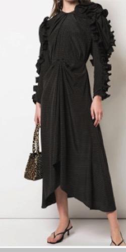 Magda Butrym (マグダ ブトリム)polka dot dress