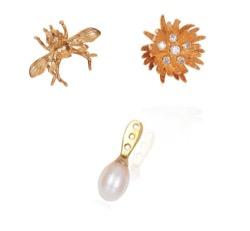 SUBYUL(スビョル) Flying Bee Earrings