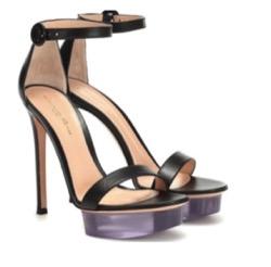 gianvito rossi shiva leather plarform sandals