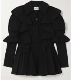 MINJUKIM Puffy Sleeve Jacket