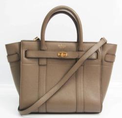 MULBERRY (マルベリー )Mini Zipped Bayswater Bag