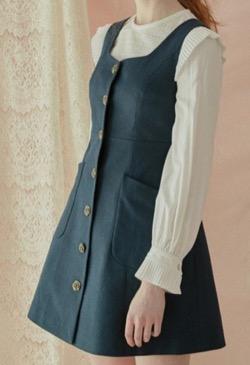 DEBB Button jumper dress