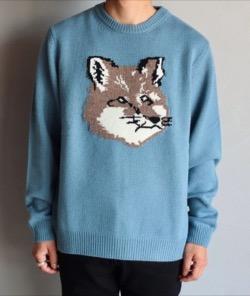 MAISON KITSUNE フォックスヘッドセーター