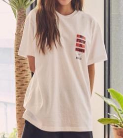 BUBULEE  White Loose Fit T-Shirt