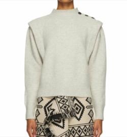 ISABEL MARANT(イザベル マラン)  Meery Sweater  Grey