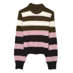 rag & bone Annika Pink Multi Striped