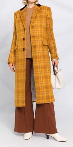 MARNI(マルニ)  Check Single Breasted Coat