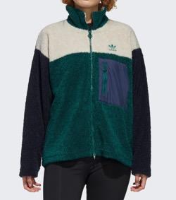 ADIDAS(アディダス)  Short Sherpa Jacket
