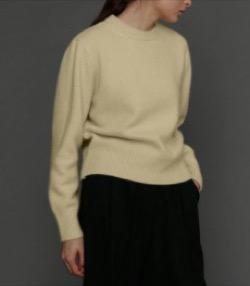 tetu  Round wool knit