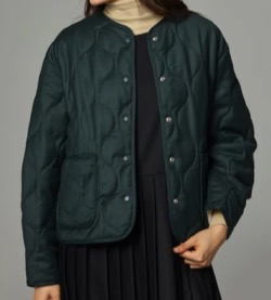 tetu  Wool quilting jacket