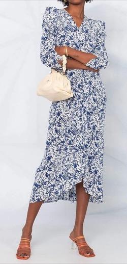ISABEL MARANT (イザベルマラン)Maray Abstract-Print Dress