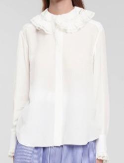 CHLOÉ (クロエ)Silk blouse Iconic Milk