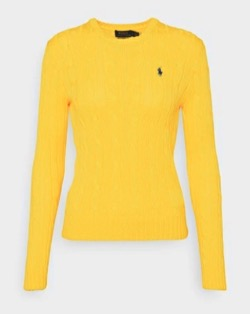 POLO RALPH LAUREN Embroidered-Logo Cotton Sweater