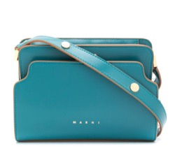 MARNI (マル二)Trunk Reverse Leather Shoulder Bag