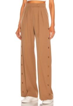 MAX MARA Pure Wool Gabardine Trousers