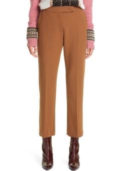 MAX MARA  Micenea Stretch Wool Crop Pants