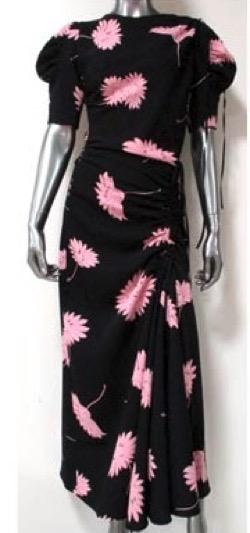 【Mine(マイン)第14話】イ・ボヨン(ソ・ヒス)さん衣装(ワンピース)のブランドはこれ♪ピンクのフラワー柄ワンピース