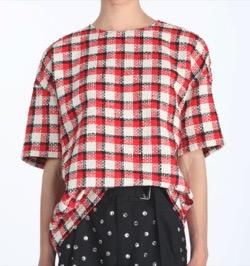 【Mine(マイン)第14話】イ・ボヨン(ソ・ヒス)さん衣装(ニットTシャツ・サングラス・ミュールサンダル・花柄ワンピース)のブランドはこれ♪赤いチェックのニットTシャツ
