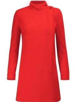Mine マイン・イボヨン衣装赤いハイネックブラウス