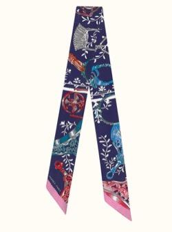 【TWICE・Dahyun(ダヒョン)】Alcohol-FreeのMV衣装(スカーフ)ネイビーのボウタイスカーフ