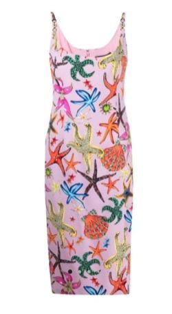 【TWICE・Sana(サナ)】Alcohol-FreeのMV衣装(スカーフ)ピンクのノースリーブミニドレス