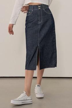 わかっていても ハンソヒ(ユ・ナビ) 衣装デニムタイトスカート