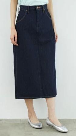 わかっていても ハンソヒ(ユ・ナビ) 衣装ブルーのデニムタイトスカート