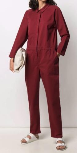 【君は私の春】ソ・ヒョンジン(カン・ダジョン役)衣装ボルドーのジャンプスーツ