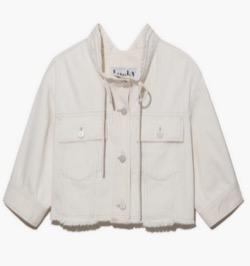 【わかっていても 第3話】 ハン・ソヒ(ユ・ナビ)さん衣装(ジャケット・カーディガン・パジャマ・キャンバスバッグ・スニーカー・ワンピース・アイシャドウ)のブランドはこれ♪白いブルゾン