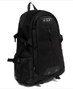 【わかっていても】 ソンガン(パク・ジェオン)衣装(リュック・スウェット)のブランド黒いバックパック