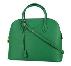 【海街チャチャチャ】シン・ミナ(ユン・ヘジン役)衣装グリーンのバッグ